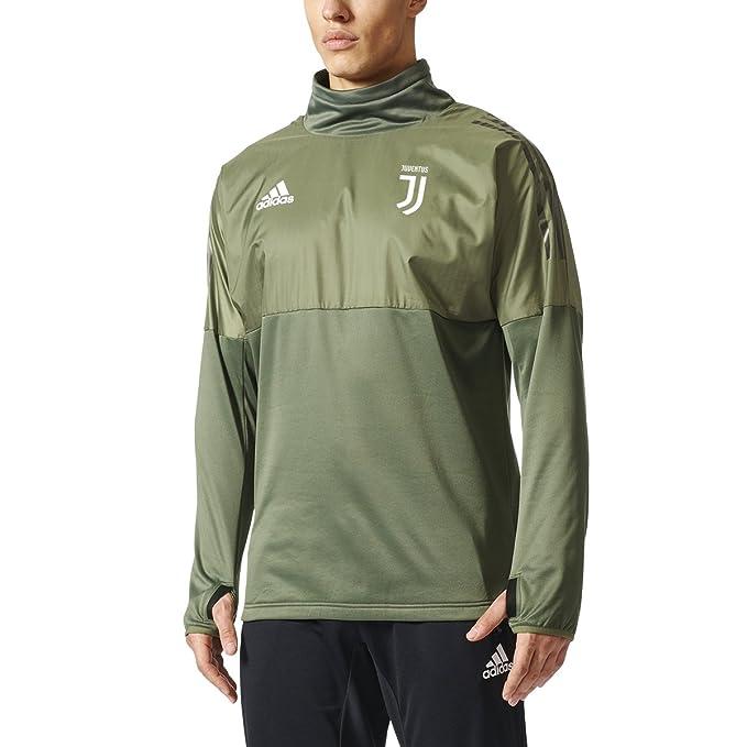 7a8d3b568 Adidas Juventus EU Hybrid Top Men s Soccer M Base Green-Black ...