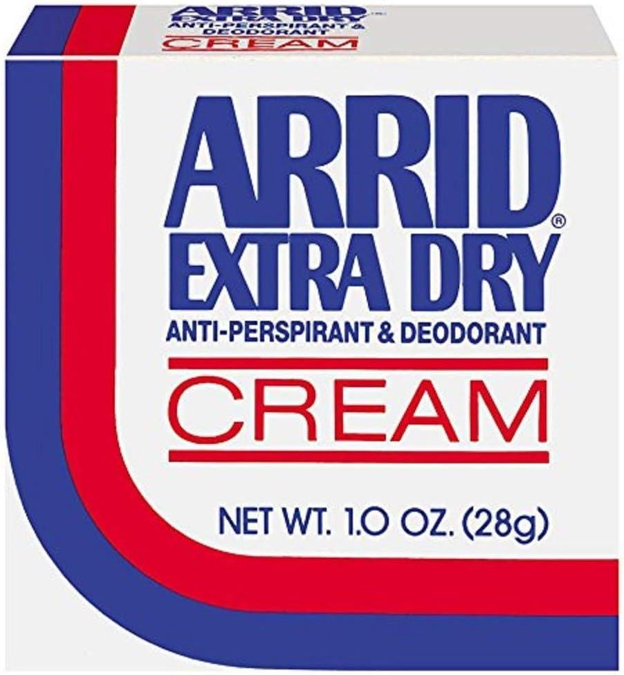 B00J5JXUJU ARRID Extra Dry Anti-Perspirant Deodorant Cream 1 oz (Pack of 2) 61LU5ekXNLL.SL1000_