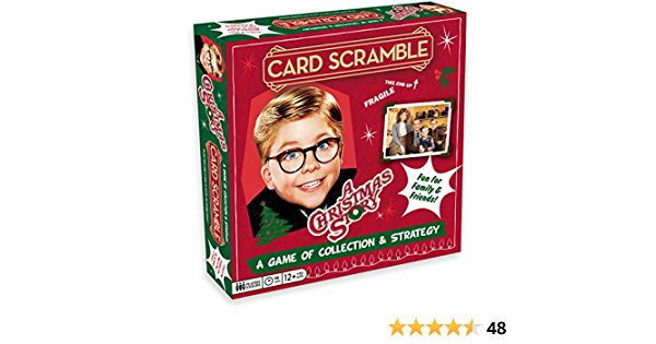 A Christmas Story Card Scramble Collection Strategy Game Brand NEW!
