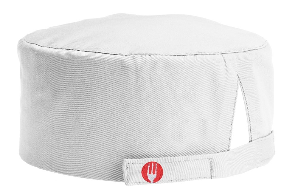 Chef Works Men's Chef Beanie, White, One Size by Chef Works