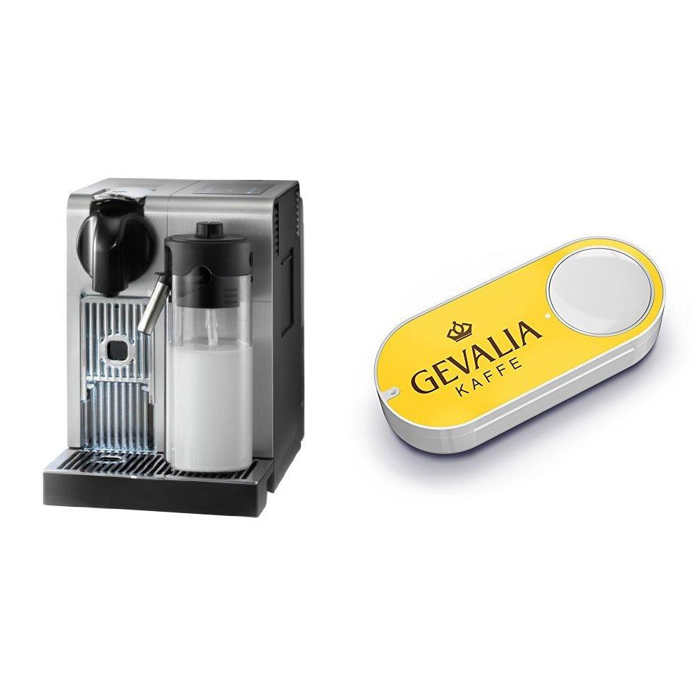 De'Longhi America EN750MB Nespresso Lattissima Pro Machine & Gevalia Dash Button