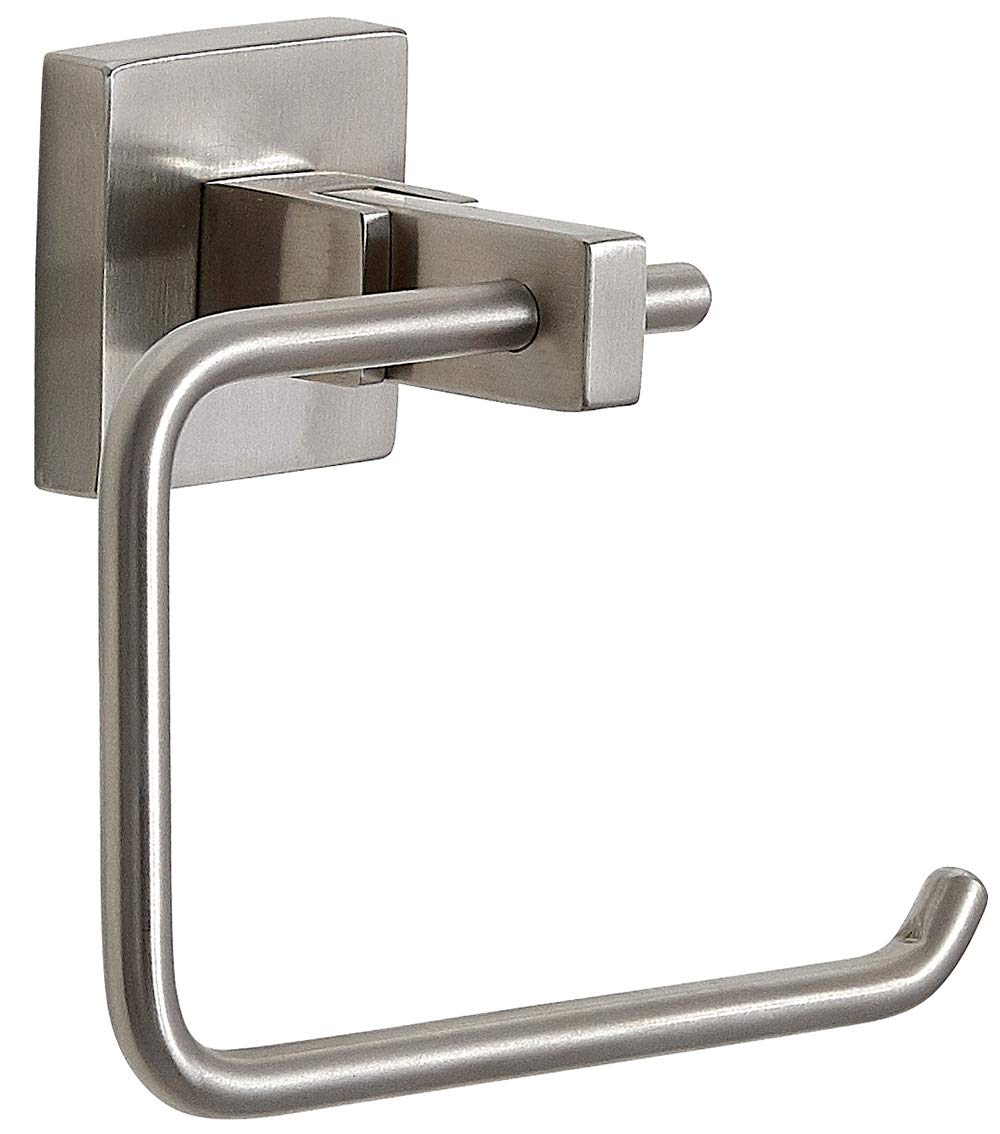 Clean Lines /& Premium Quality Stainless Steel Hanging Towel Bar Modern Flat Brushed Nickel Hand Towel Bar Satin Finished Wall Mounted Contemporary Design Bathroom or Kitchen