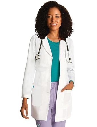Adar Bata Médica de Laboratorio para Mujeres, Doctoras y Científicos - 2817 Color: Wht
