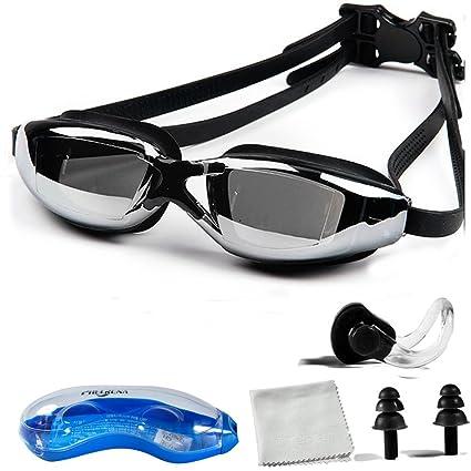 d760bb17acf Amazon.com   PHELRENA Swimming Goggles