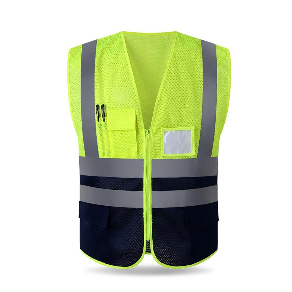 Alta visibilidad seguridad chaleco reflectante para correr caminar ...