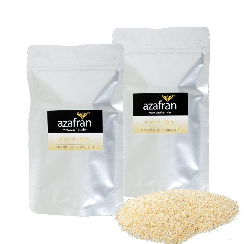 Bio de ajos granulado (ajos polvo) - (250G) de azafran®: Amazon.es: Alimentación y bebidas