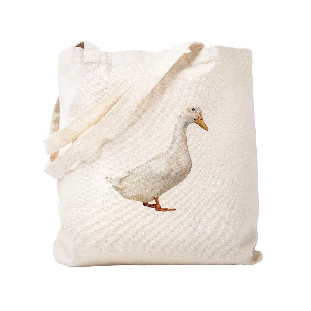 CafePress – Duck – ナチュラルキャンバストートバッグ、布ショッピングバッグ S ベージュ 0626473897DECC2 B0773TXYVQ S