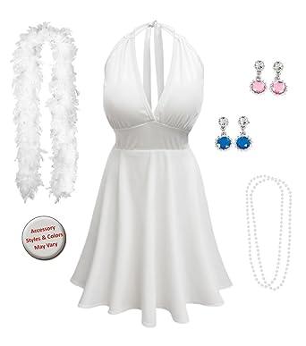 0c34434c756 Amazon.com  Sanctuarie Designs Marilyn Monroe Plus Size Supersize Halloween  Costume  Clothing