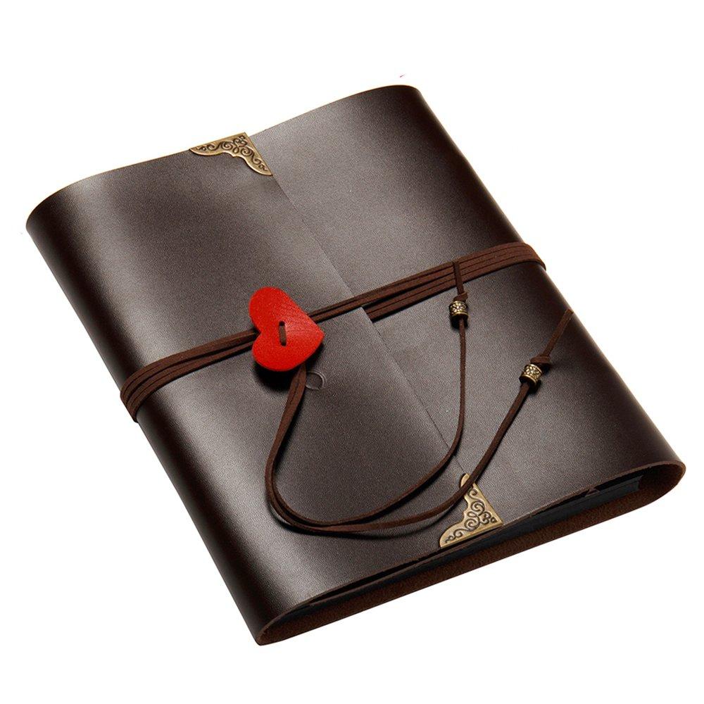 DIY Photo Album Wedding DIY Albums, Handmade DIY Photo Album Anniversary Scrapbook Self-adhesive Picture Book with Blank Pages