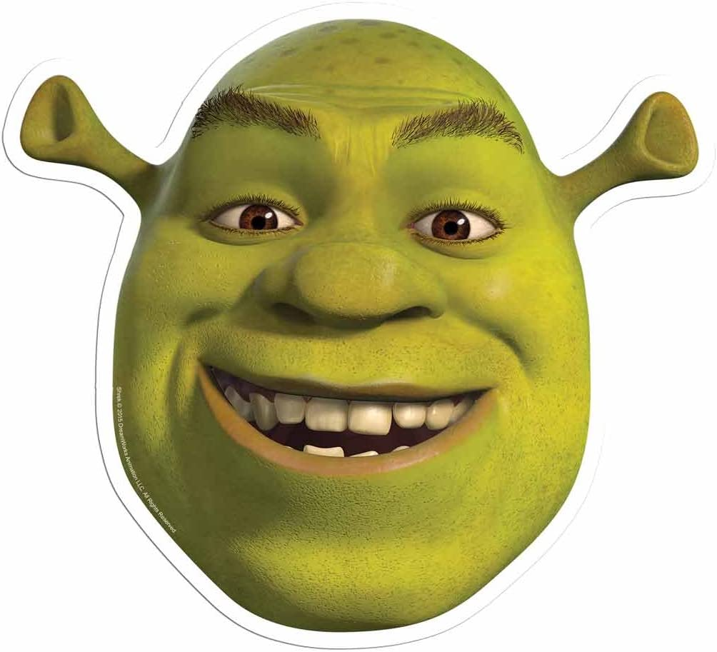 Masque Stsm207 Star cutouts Dreamworks Shrek