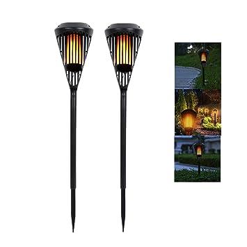 Led-gartenlampen 2 Größe Neue Solar Rasen Lampe Edelstahl Solar Lichter Garten Lichter Im Freien Led-leuchten
