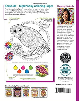 Free Shipping Groovy Owls Coloring Book Is Fun