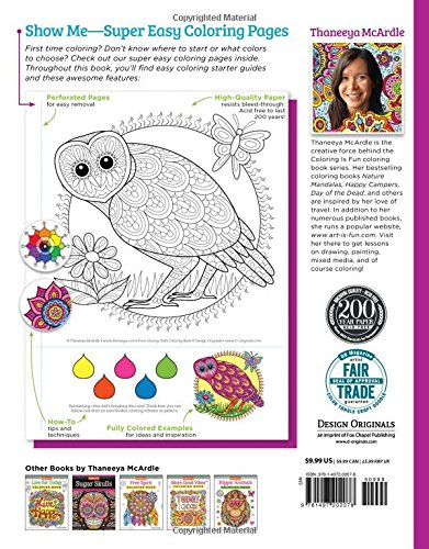 Amazon.com: Groovy Owls Coloring Book (Coloring Is Fun ...
