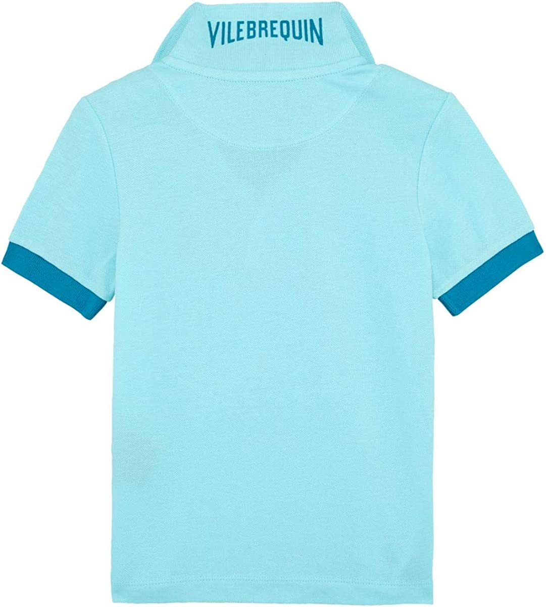 Solid Polohemd aus Baumwollpikee f/ür Jungen