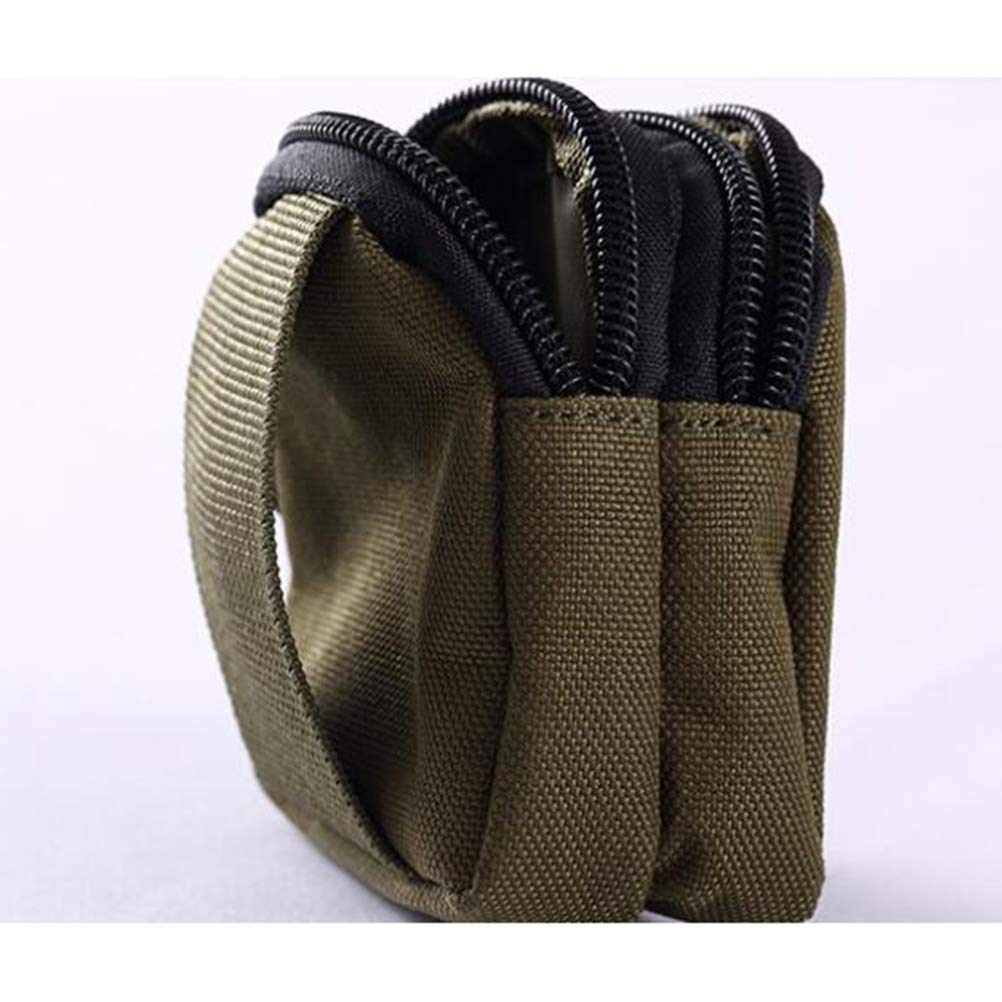 LIOOBO Portable Outdoor Sports Pack Pouch Waterproof Waist Bag with Utility Military Tactical Pocket Army Green