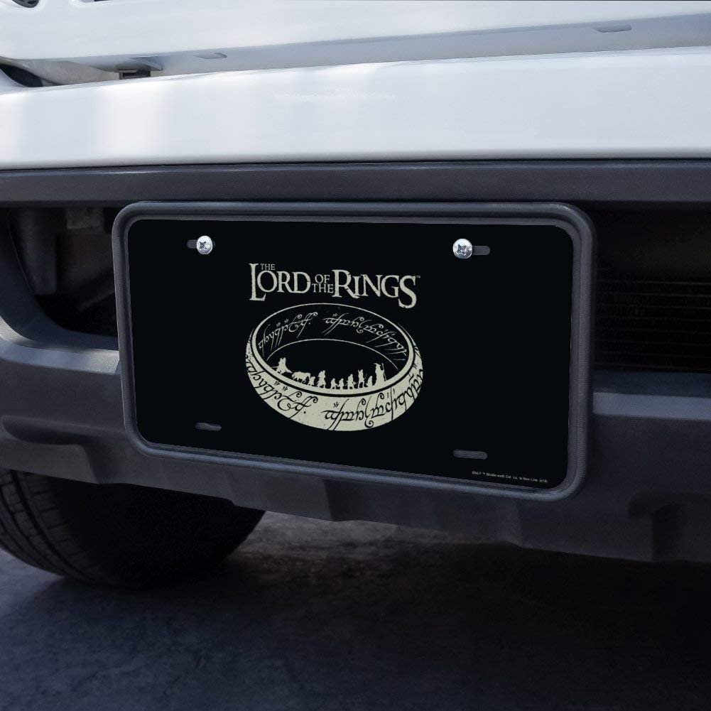 Graphics and More Lord of The Rings The Journey Novelty Metal Vanity Tag License Plate