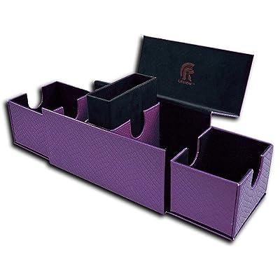 Legion Deck Box Vault V2 Dragonhide Purple: Toys & Games