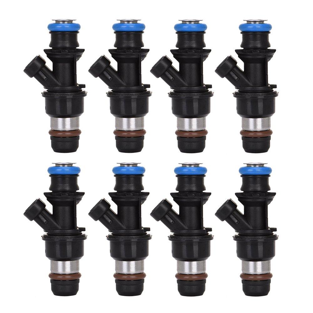 Catinbow 17113553 8PCS Engine Fuel Injector Set for Chevrolet Silverado Express GMC Savana Sierra 1500 2500 3500 Cadillac 4.8L 5.3L 6.0L by Catinbow