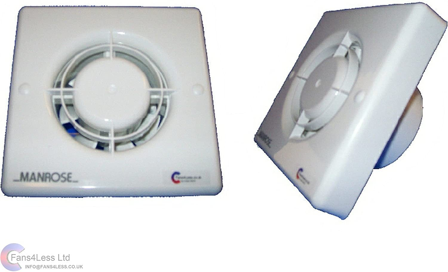 Timer Model 100mm 4 Inch SELV 12V Suitable for use within Zone 1 by Air Vent Airvent 434399 Low Voltage Axial Extractor Fan /& Transformer Kit