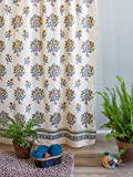 French Country Shower Curtains Wild Poppies ~ French Country Yellow Botanical Shower Curtain 72