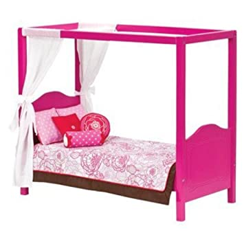 Our Generation My Sweet Canopy Bed For 18 Dolls By Our Generation