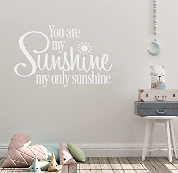 36u0026quot;x24u0026quot; You Are My Sunshine My Only Sunshine Song Child Happy  Love You
