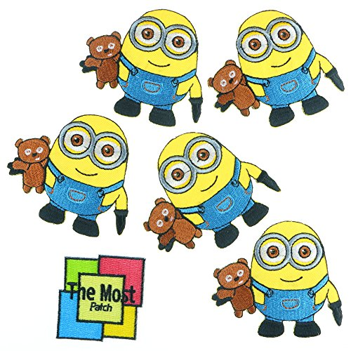 Lot Of 6 (5+1) Minions Teddy Bear Smile Cartoon Comic Fun...