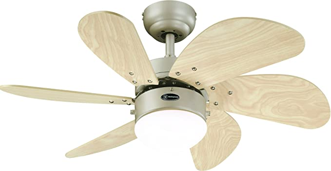 Westinghouse Ventilador de techo, 60 W: Amazon.es: Iluminación