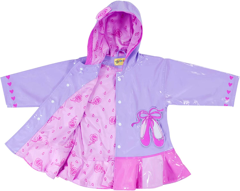 Kidorable Girls Ballerina Jacket Girls Rain Accessory