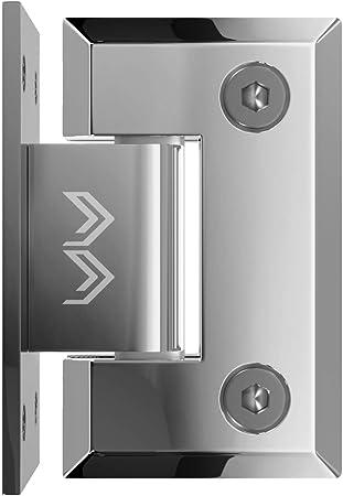 1 Glass Door Hinge Hinge Shower Bathroom Door Stainless Steel