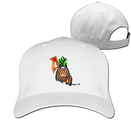 Amazon.com   SR-Home Baseball Caps Funny Angry Pineapple Dad Hat ... a94d7f607148
