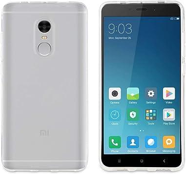 Muvit Crystal Soft - Funda para Xiaomi Redmi Note 4, Transparente ...