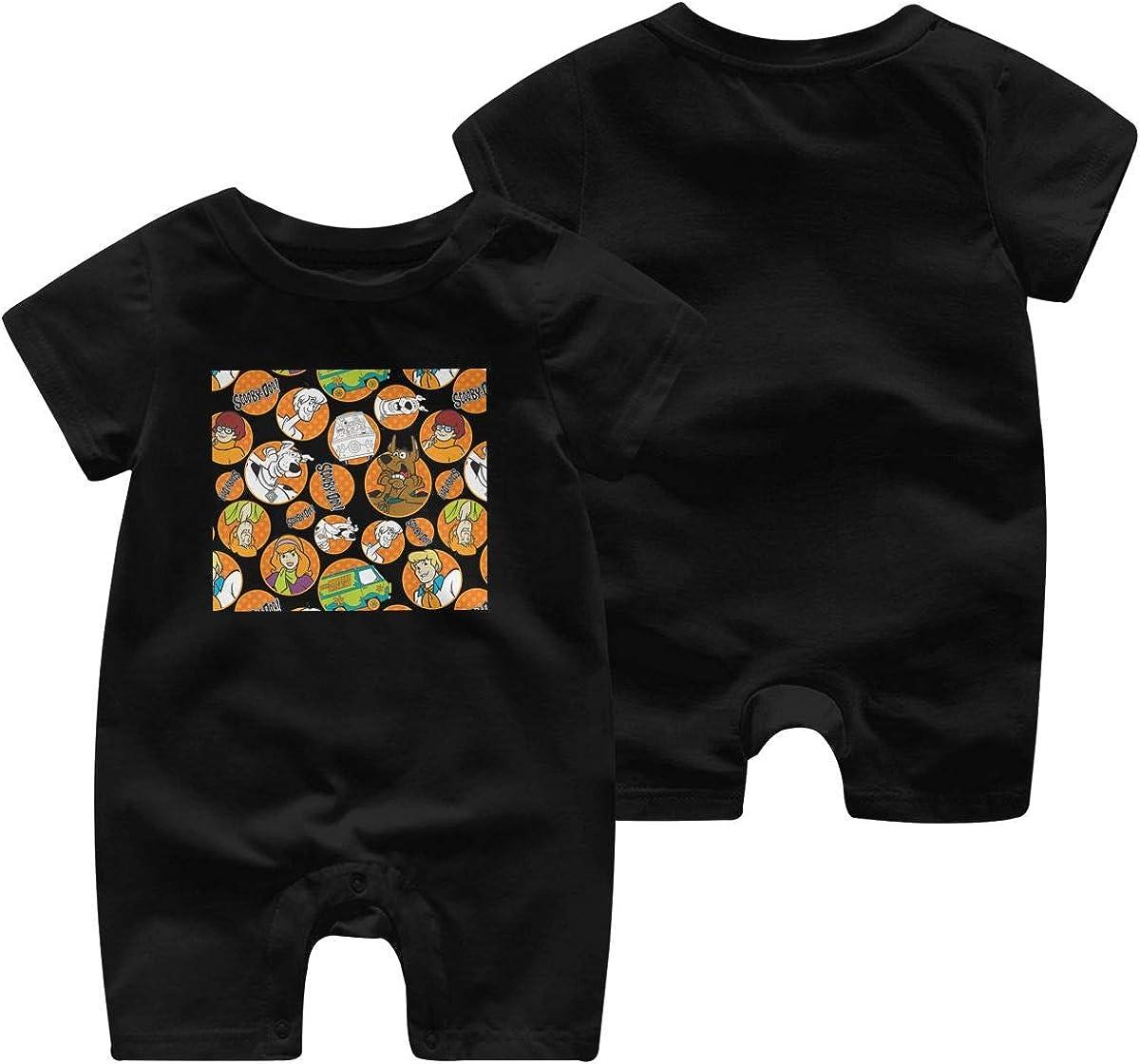 Scooby Doo Newborn Cotton Long Sleeve Onesies for Baby Boys /& Girls