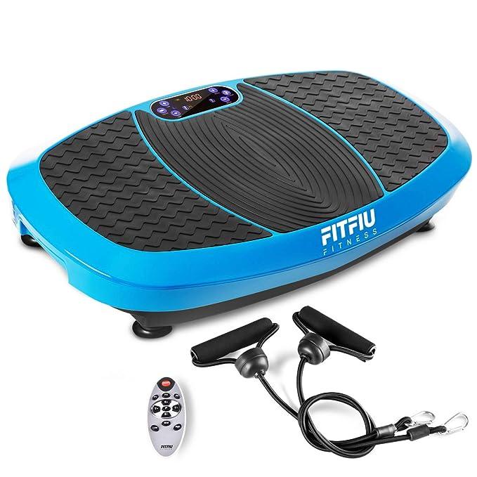 Fitfiu PV-200 Azul Plataforma Vibratoria, Talla Única: Amazon.es: Deportes y aire libre
