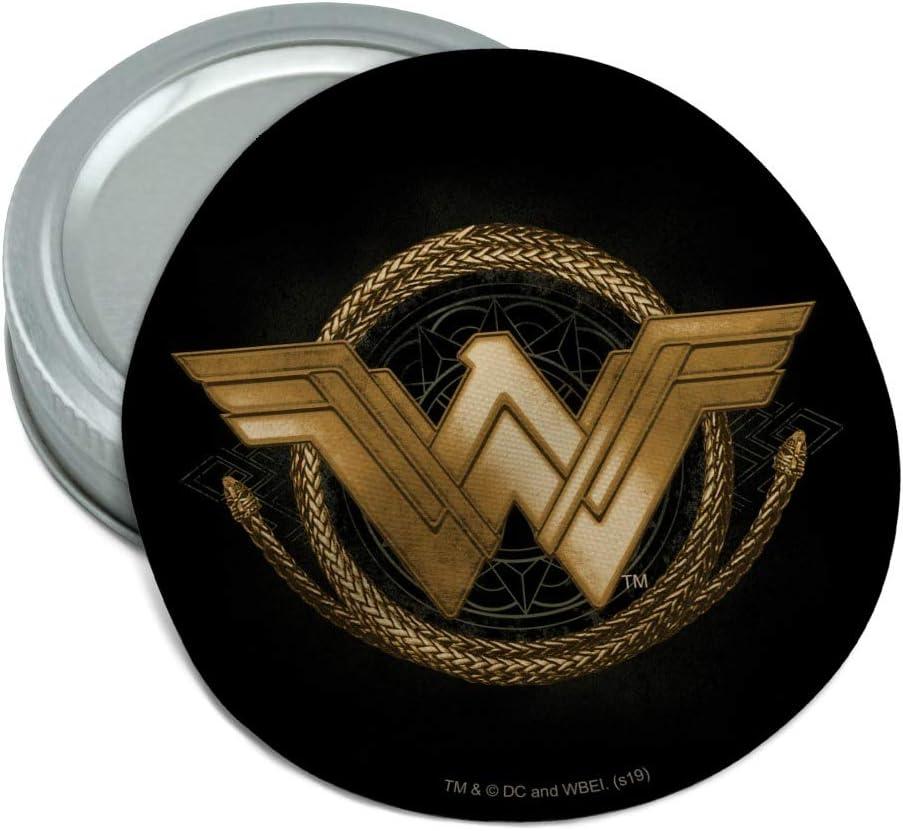 Wonder Woman Movie Golden Lasso Logo Round Rubber Non-Slip Jar Gripper Lid Opener