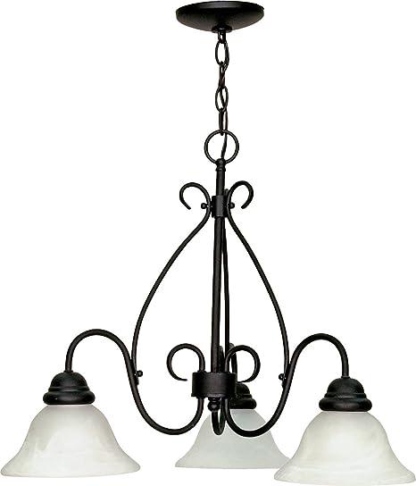 Amazon.com: Chandeliers - Lámpara de techo (3 focos con ...