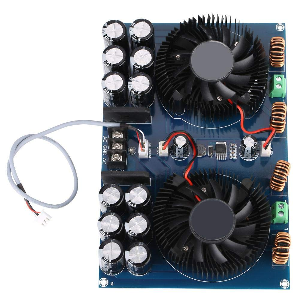 Audioverstärkerplatine Xh M258 2 420w Hochleistungs Digital Stereo Audioverstärkerplatine Da8954th Dual Chip Leistungsverstärkerplatine Gewerbe Industrie Wissenschaft