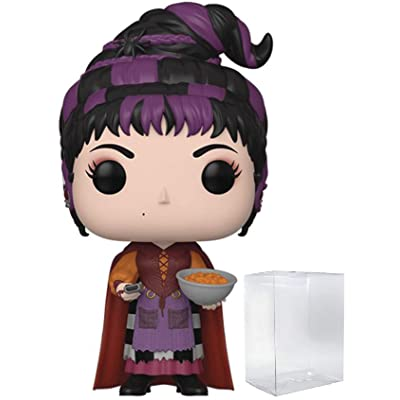 Funko Disney: Hocus Pocus - Mary Sanderson with Cheese Puffs Pop! Vinyl Figure (Includes Compatible Pop Box Protector Case): Toys & Games