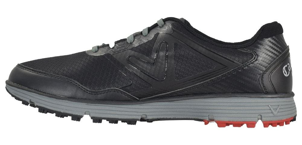Callaway Men's Balboa Vent Golf Shoe, Black/Grey, 8 D US by Callaway (Image #2)
