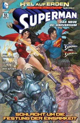 Superman Sonderband #55 - H'el auf Erden, Teil 2 von 2 (2013, Panini) ***New 52***