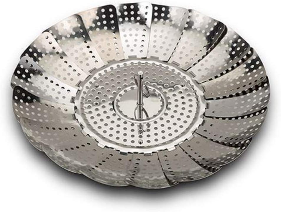Nava Zusammenklappbarer Edelstahlkorb zum Dampfgaren /Ø 28 cm