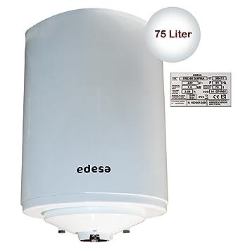 Edesaco - Termo Electrico Edesa Confor Tre75Supra, 75L, 1200W, 76.7X50X52.2Cm Instalacion Vertical I Horizontal,Termostato Exterior: Amazon.es: Hogar