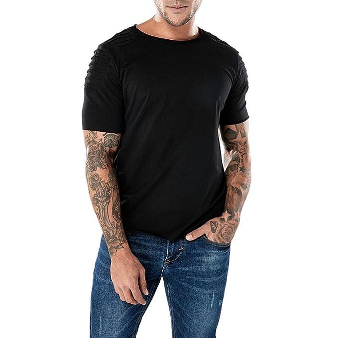 Camiseta Para Hombre, Los Hombres de la Bandera Imprimieron Las Camisetas de Manga Corta de Verano Top Tee Blusa