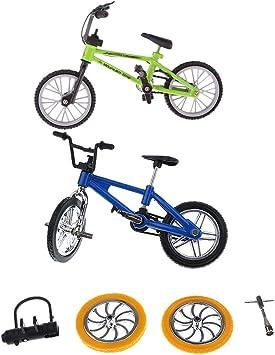 2 Piezas Dedo Bicicleta de Montaña BMX Fixie Bicicleta Regalo de ...