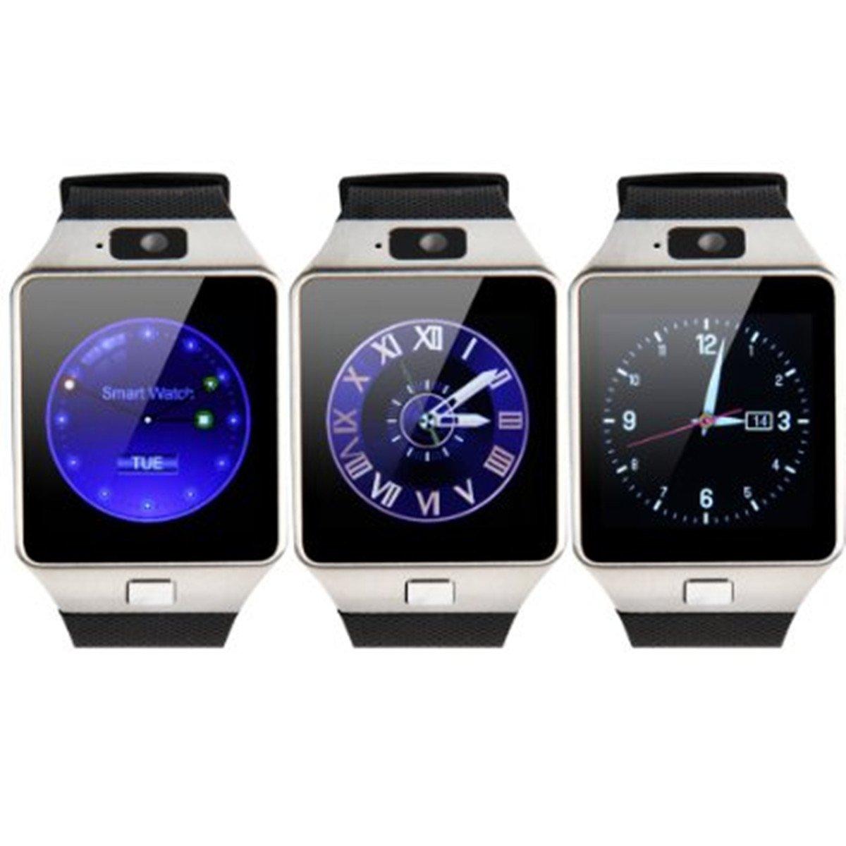 VOSMEP SmartWatch Reloj Inteligente Bluetooth 3.0 Teléfono Inteligente Pulsera Pantalla Cámara Táctil para Android Samsung HTC LG Huawei Xiaomi Reloj ...