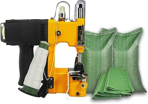 InLoveArts Máquina de Cierre de Bolsas Portátil Máquina de Coser Empaquetadora Eléctrica Sellado de Costura para Bolsa de Plástico Sacos Bolsas de Lona Bolsas Tejidas Paquetes de Bolsas de Papel: Amazon.es: Hogar