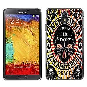 Dragon Case - FOR Samsung Note 3 N9000 - open the doors - Caja protectora de pl??stico duro de la cubierta Dise?¡Ào Slim Fit