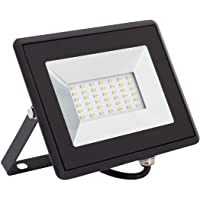 LEDKIA LIGHTING Foco Proyector LED Solid 30W Blanco Cálido 3000K