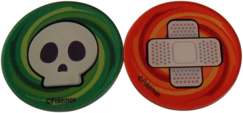 Burn /& GX Markers//Counters POKEMON Acrylic Poison