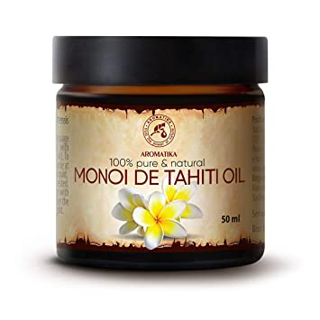 Amazon Com Monoi Oil 1 7oz 100 Pure Natural France Best Benefits For Hair Skin Face Body Care Multipurpose Great For Beauty Aromatherapy Spa Relaxation Bath Massage Beauty